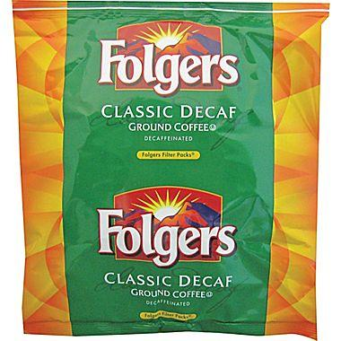 Folgers Coffee Ultra Decaffeinated Flavor Filters Ground Coffee 80 1.5oz Bags