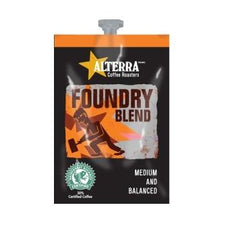 Alterra Foundry Blend Coffee Fresh Packs 5 Rails 100 Ct