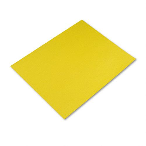 Four-Ply 28 x 22 Yellow Poster Boards 25ct Case