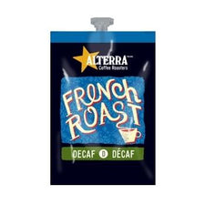 Alterra French Roast Decaf Coffee Fresh Packs 5 Rails 100 Ct