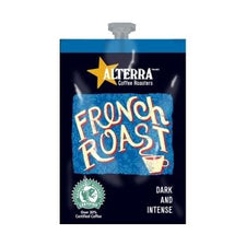 Alterra French Roast Coffee Fresh Packs 5 Rails 100 Ct