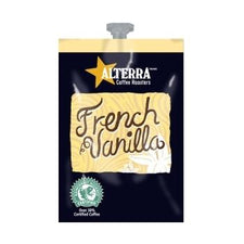 Alterra French Vanilla Coffee Fresh Packs 5 Rails 100 Ct