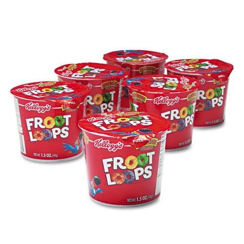 Fruit Loops Cereal Single-Serve 1.5oz Cups 6ct Box