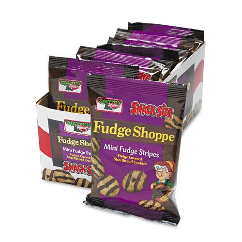 Fudge Stripes Mini Cookies 2oz Snack Packs 8ct Box