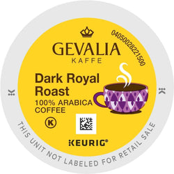 Gevalia Kaffee Dark Royal Roast K-cup Pods 96ct