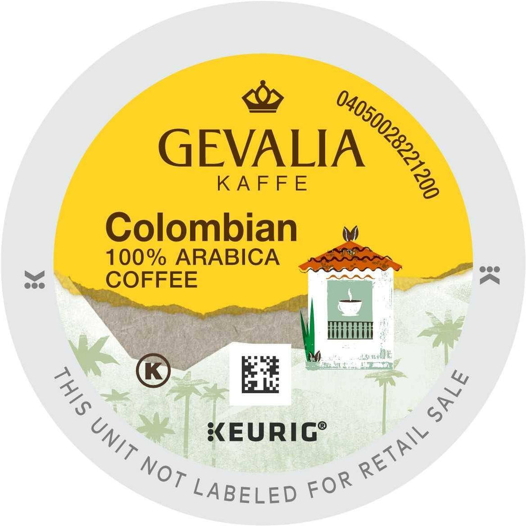Gevalia Kaffee Colombia K-cup Pods 96ct