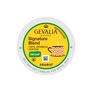 Gevalia Kaffee Signature Blend Decaf K-cup Pods 24ct | Past Peak