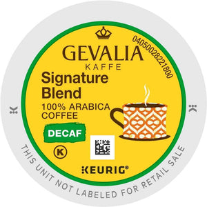 Gevalia Kaffee Signature Blend Decaf K-cup Pods 96ct