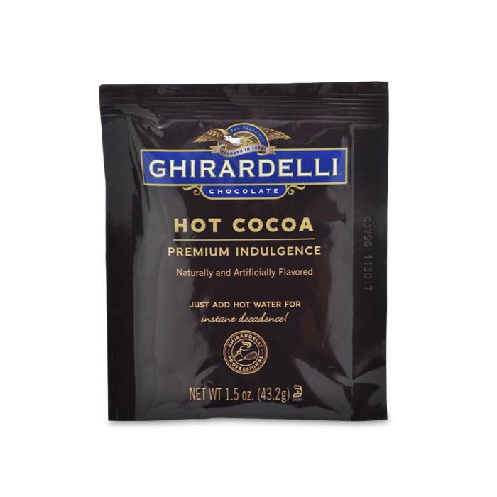 Ghirardelli® Double Chocolate Hot Cocoa 15ct Packets for Keurig Systems