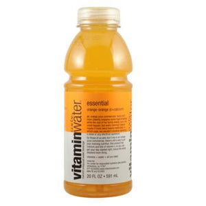 Glaceau Vitamin Water Essential Orange 24 20oz Bottles
