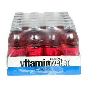 Glaceau Vitamin Water Power-C Dragonfruit 24 20oz Bottles Front Case
