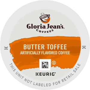 Gloria Jean's Butter Toffee K-Cups 96ct Flavored