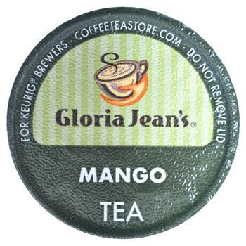 Gloria Jean's Mango Tea Keurig K-Cup Single Cup