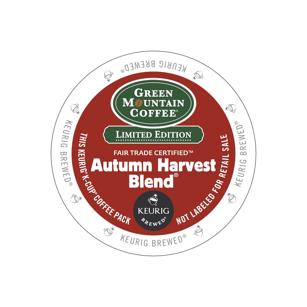 Green Mountain Coffee Autumn Harvest Blend K Cup Pods
