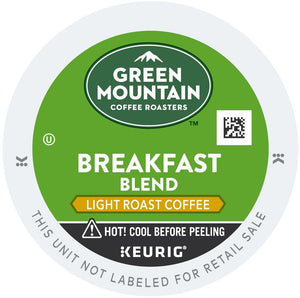 Green Mountain Coffee Breakfast Blend K-Cups 24ct Mild | Expired