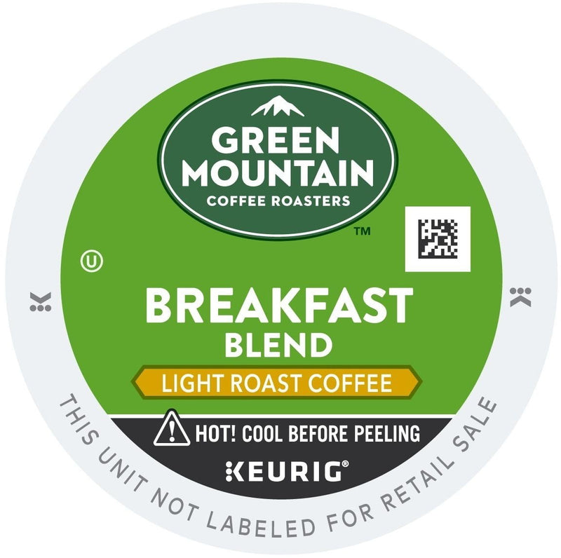 Green Mountain Coffee Breakfast Blend K-Cups 96ct Mild