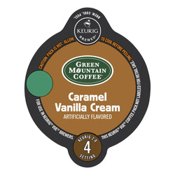 Green Mountain Coffee Caramel Vanilla Cream Coffee Vue Packs 16ct
