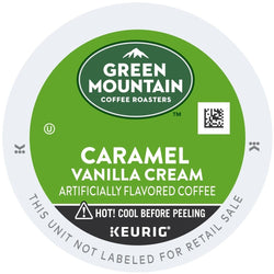 Green Mountain Coffee Caramel Vanilla Cream K-Cups 96ct