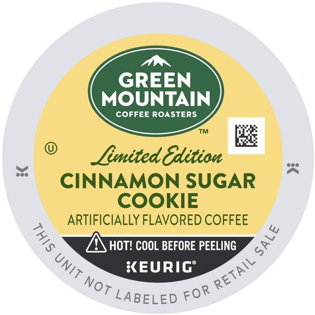 Green Mountain Coffee Cinnamon Sugar Cookie K-cup Pods 24ct