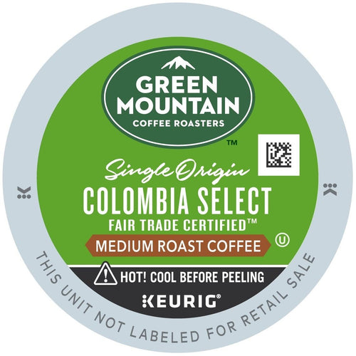Green Mountain Coffee Colombian Fair Trade Select K-Cups 24ct | Expired