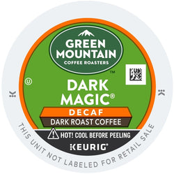 Green Mountain Coffee Dark Magic Decaf Extra Bold K-Cups 96ct