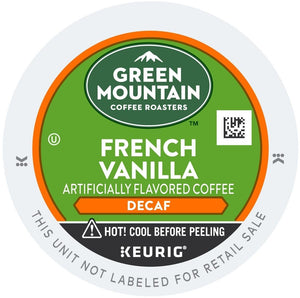 Green Mountain Coffee Decaf French Vanilla K-Cups 24ct
