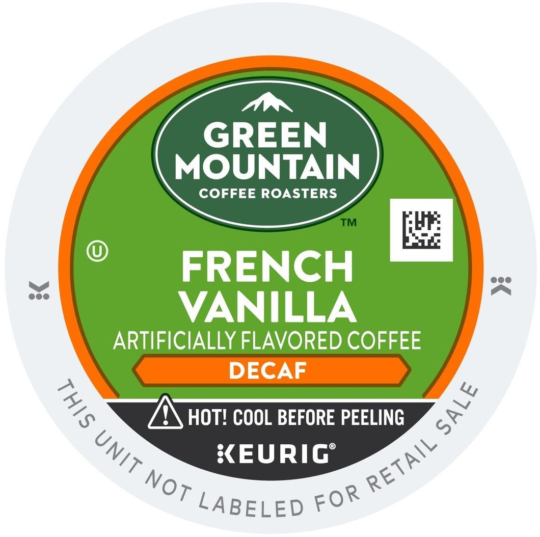 Green Mountain Coffee Decaf French Vanilla K-Cups 96ct