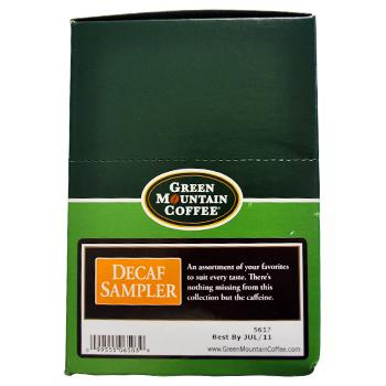 Green Mountain Coffee Decaf K Cup 174 Pods Variety Pack 88ct