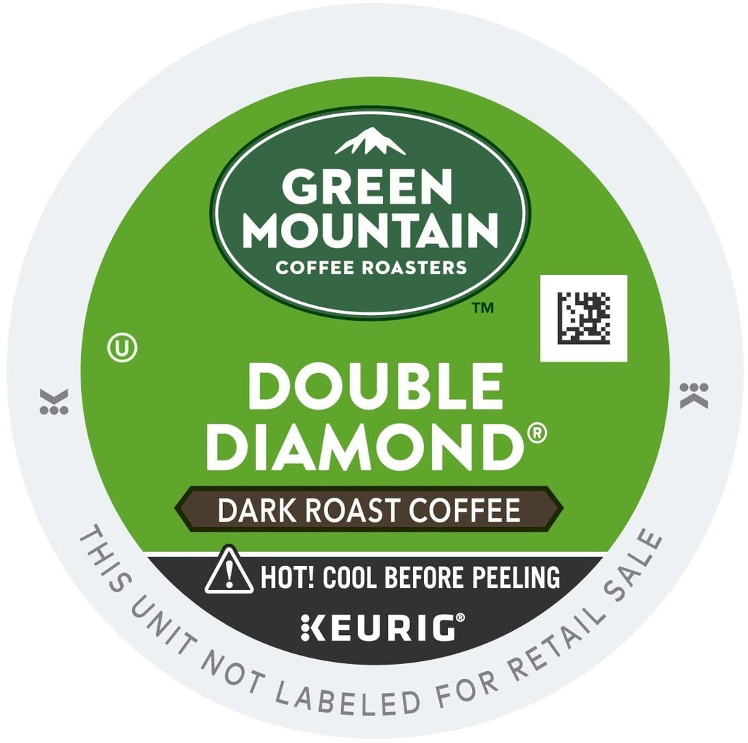 Green Mountain Coffee Double Diamond Extra Bold K-Cups 96ct