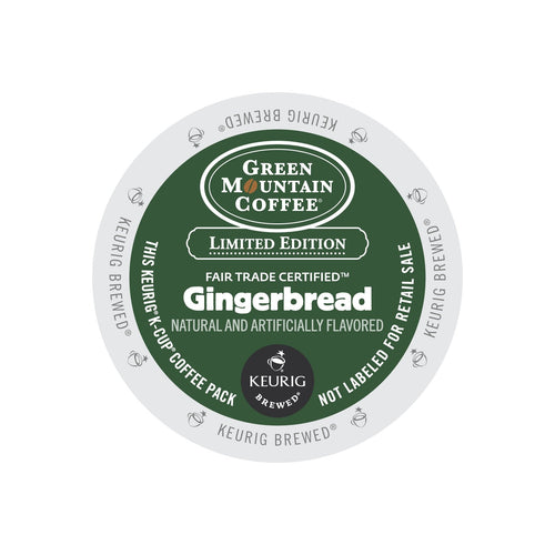 Green Mountain Coffee Fair Trade Gingerbread K-Cup® Pods 24ct Seasonal