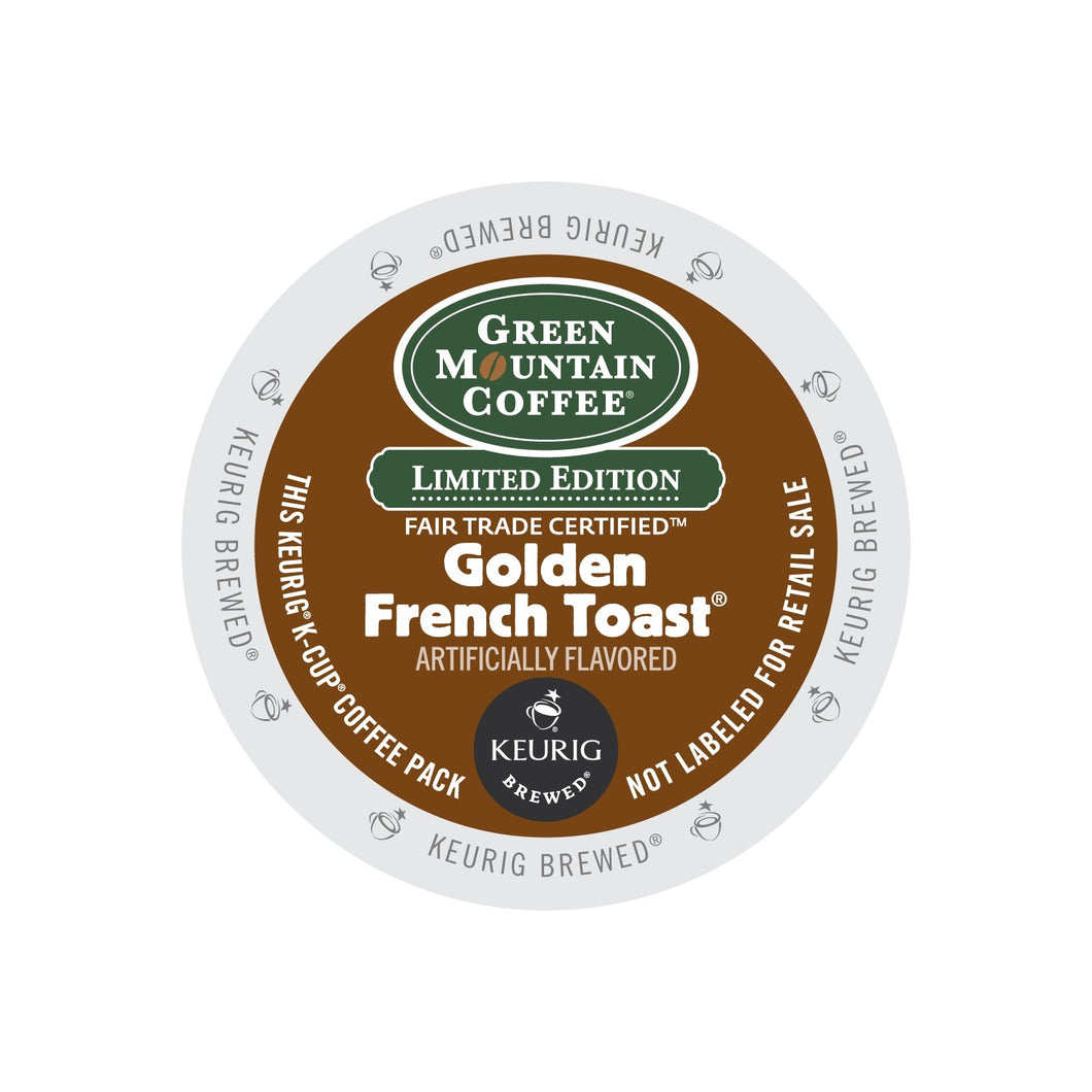 Green Mountain Coffee Fair Trade Golden French Toast K-Cup® Pods 24ct Flavored
