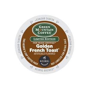 Green Mountain Coffee Fair Trade Golden French Toast K-Cup® Pods 96ct