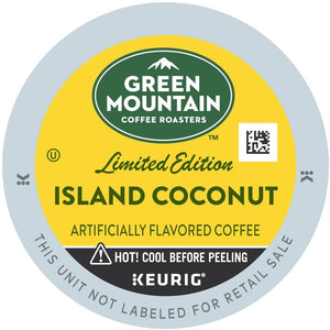 Green Mountain Coffee Fair Trade Island Coconut K-Cup® Pods 96ct