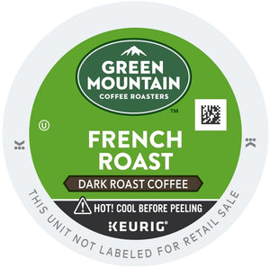 Green Mountain Coffee French Roast K-Cups 24ct Dark