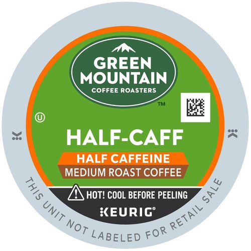 Green Mountain Coffee Half-Caff Blend K-Cups 24ct | Expired