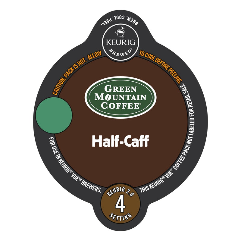 Green Mountain Coffee Half-Caff Vue Packs 16ct