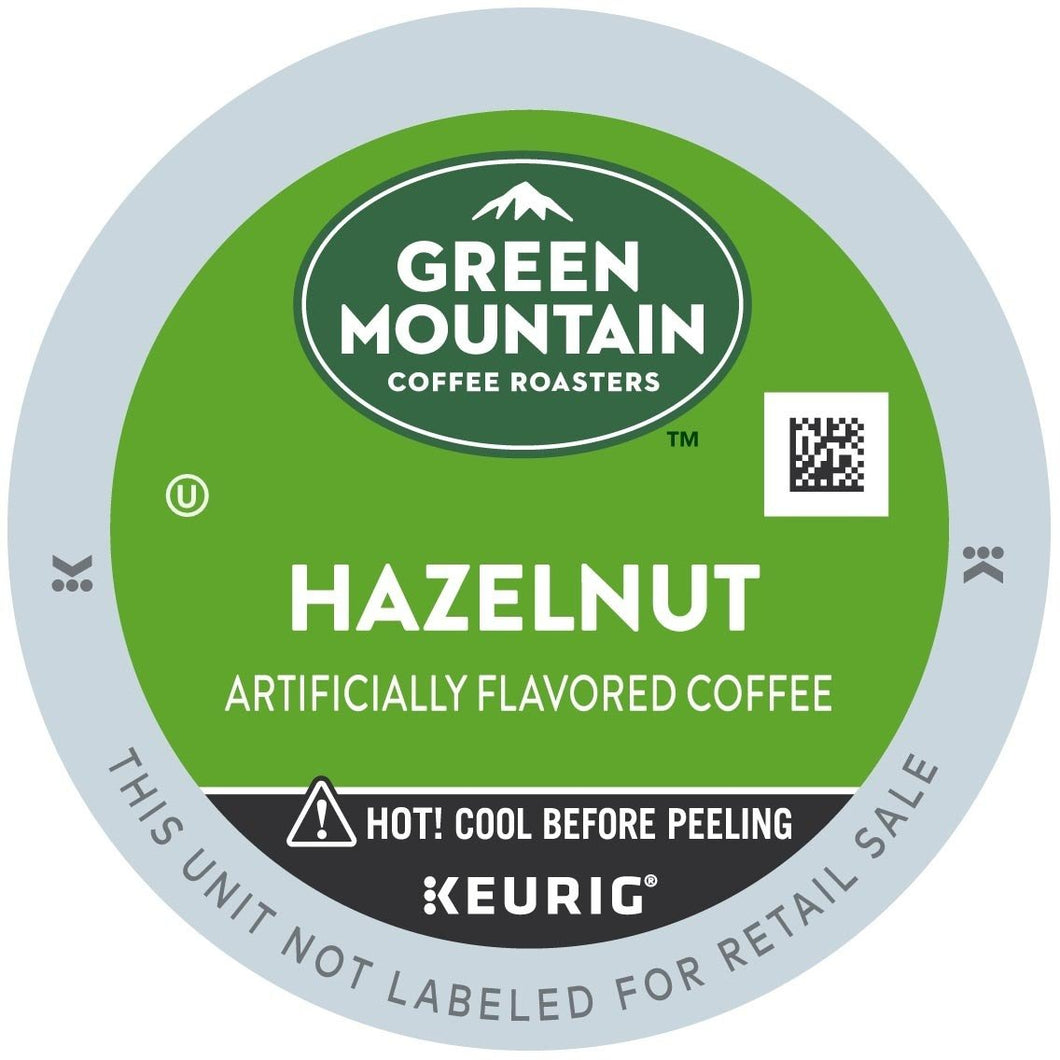 Green Mountain Coffee Hazelnut K-Cups 96ct Flavored