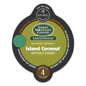 Green Mountain Coffee Island Coconut Coffee Vue Packs 16ct