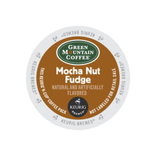 Green Mountain Coffee Mocha Nut Fudge K-Cups 24ct Flavored
