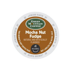 Green Mountain Coffee Mocha Nut Fudge K-Cup® Pods 24ct Flavored