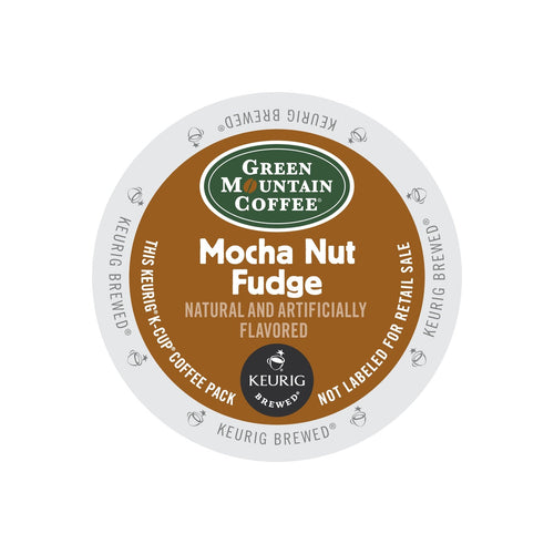 Green Mountain Coffee Mocha Nut Fudge K-Cup® Pods 96ct Flavored