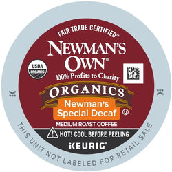 Green Mountain Coffee Newman's Own Special Decaf K-Cups 96ct Medium Dark