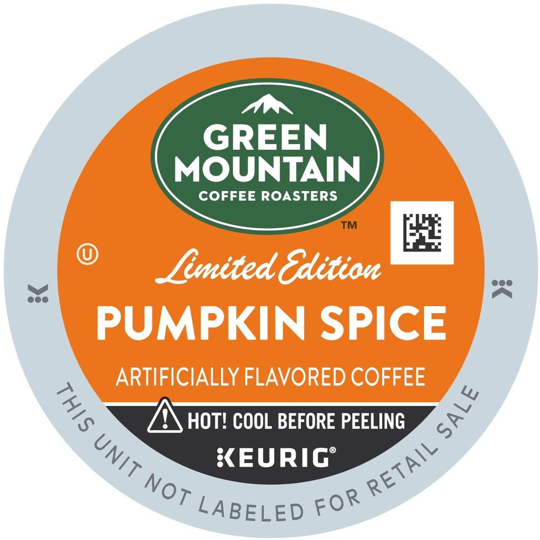 Green Mountain Coffee Pumpkin Spice K-Cups 96ct - Seasonal