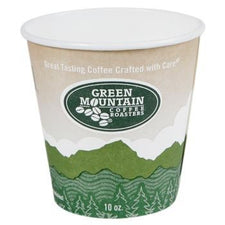Green Mountain Coffee Roasters Ecotainer™ Hot Cups - 1000ct 10oz Cups