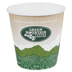 Green Mountain Coffee Roasters Ecotainer Hot Cups 1000ct 10oz Cups