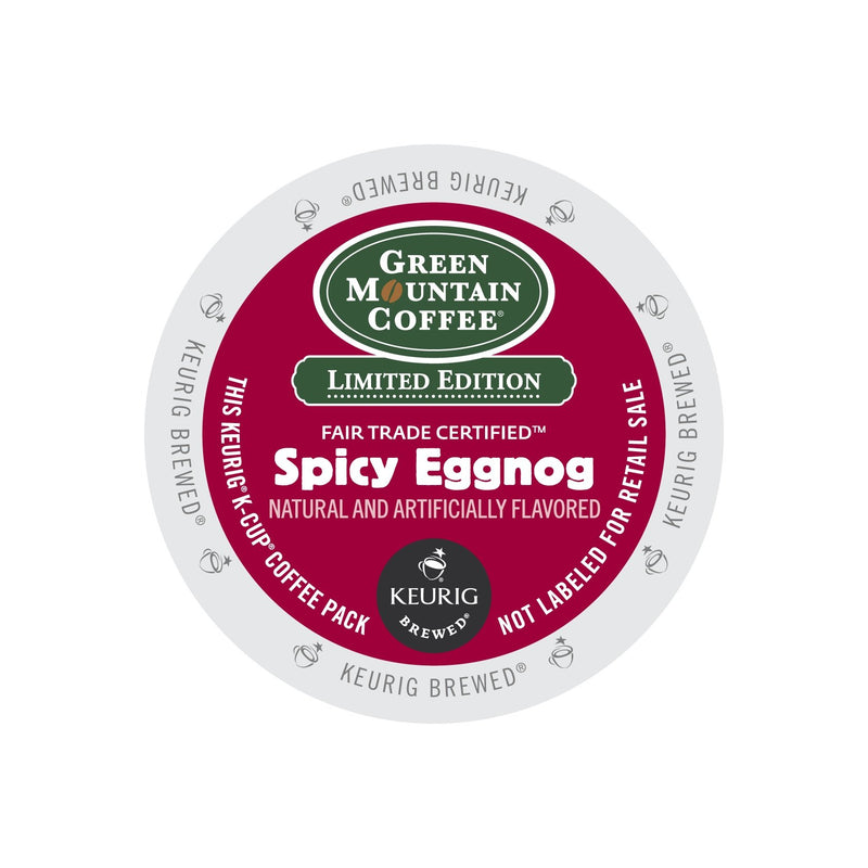 Green Mountain Coffee Spicy Eggnog K-Cup® Pods 24ct Seasonal