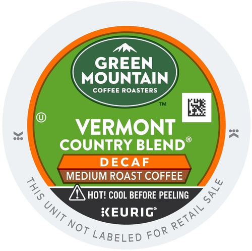 Green Mountain Coffee Vermont Country Blend Decaf K-Cups 96ct Medium