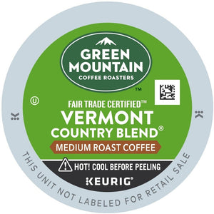 Green Mountain Coffee Vermont Country Blend K-Cups 24ct Medium