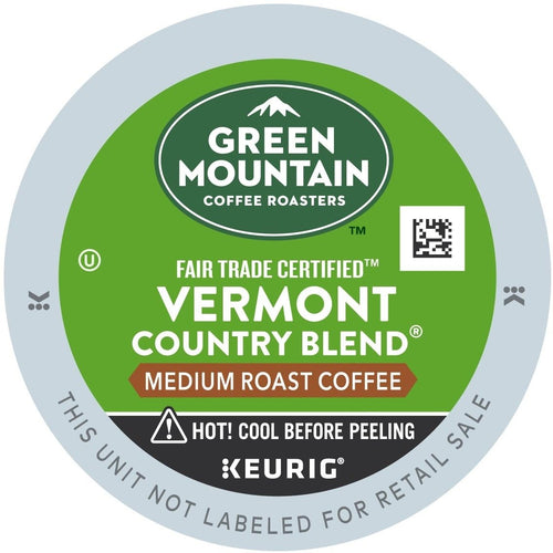 Green Mountain Coffee Vermont Country Blend K-Cups 96ct Medium