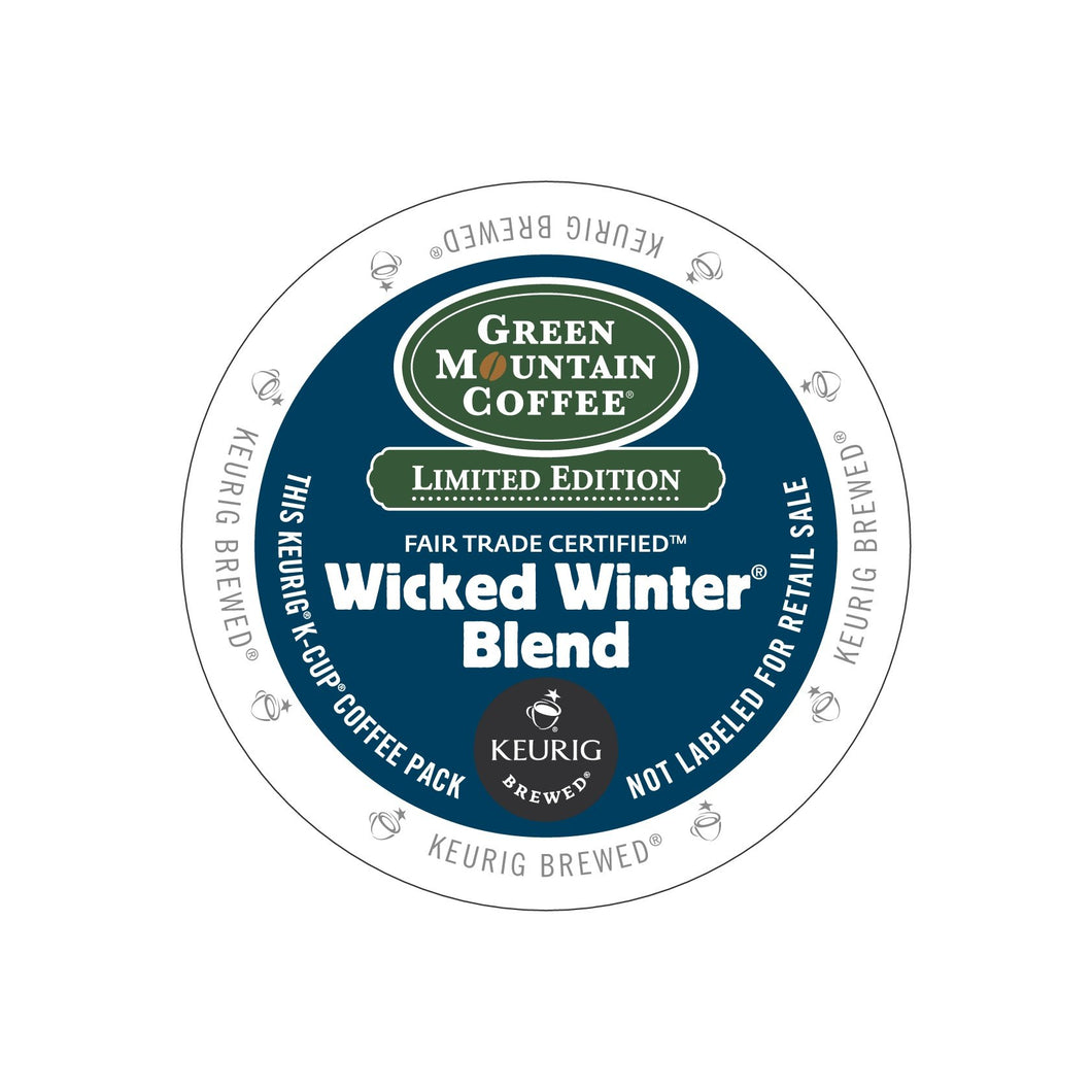 Green Mountain Fair Trade Wicked Winter Blend K-Cup® Pods 96ct